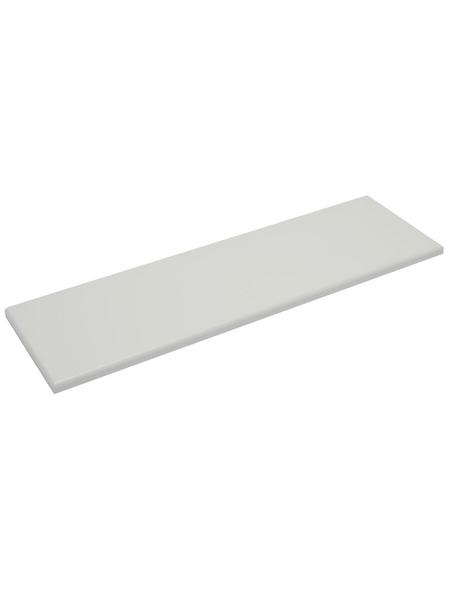 Duraline Regalboden »4XS XS2«, BxT: 80 x 23,5 cm, Mitteldichte Faserplatte (MDF), weiß