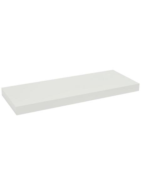 Duraline Regalboden »XL4«, BxT: 60 x 23,5 cm, Mitteldichte Faserplatte (MDF), weiß