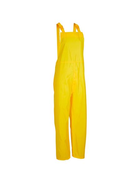 SAFETY AND MORE Regenlatzhose »Basic«, Gelb, Verstellbare Träger
