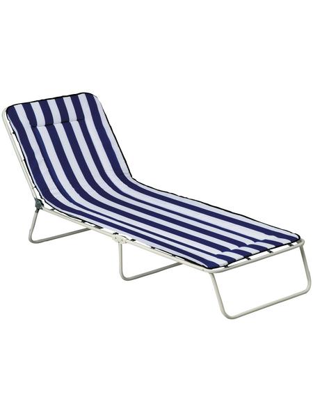 BEST Relaxliege »Chiemsee«, Stahl