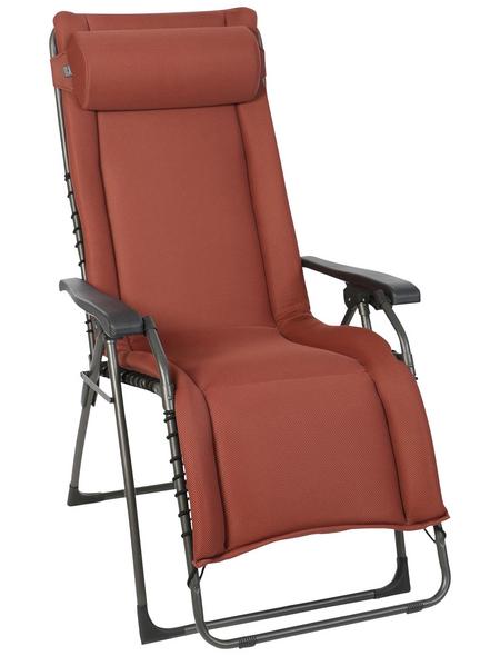 SUNGÖRL Relaxliege »Oasi Daydreamer XL«, 3D Mesh/Stahl/Kunststoff, Stufenlos verstellbar/Klappfunktion