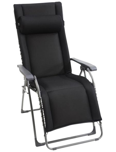 SUNGÖRL Relaxliege »Oasi Daydreamer XL «, Stahl/Textilen, Kippfunktion/Klappfunktion