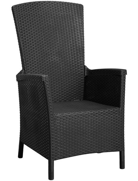 BEST Relaxsessel »Capri«, BxHxT: 64 x 107 x 68 cm, Kunststoff