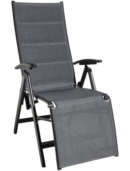 CASAYA Relaxsessel »Lacona«, Aluminium/Textilen, Klappfunktion