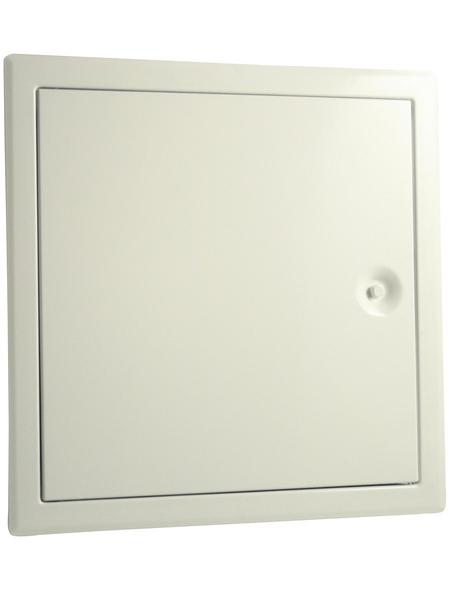 MARLEY Revisionstür, Weiß, 20 x 20 cm