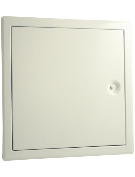 MARLEY Revisionstür, Weiß, 25 x 25 cm