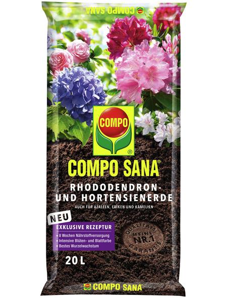 COMPO Rhododendronerde »COMPO SANA® «, für Rhododendron, Hortensien, Eriken, Azaleen und Kamelien
