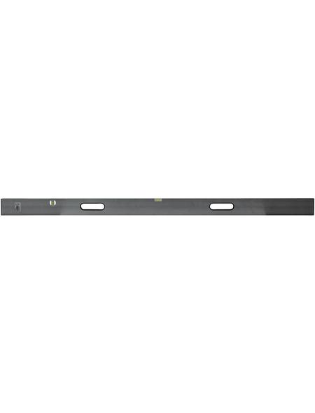 CONNEX Richtlatte, Grau, LxBxH: 180 x 1,6 x 0,3 cm