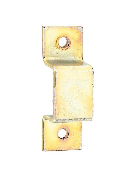 GECCO Riegelschlaufe mit flachem Griff Stahl 15 x 7 mm 4 St.
