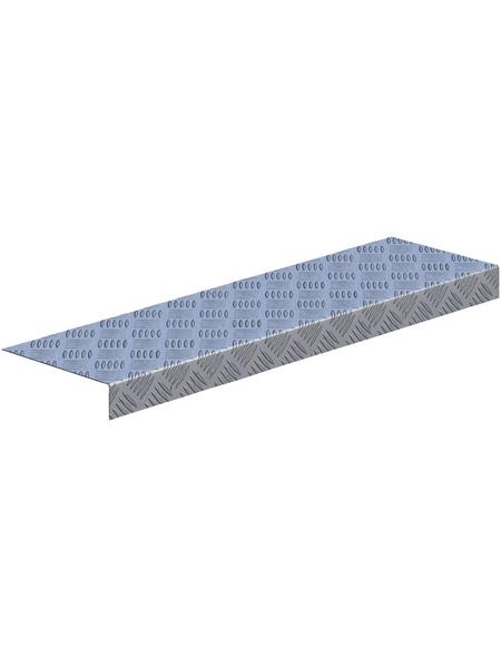 SAREI Riffelblechprofil, BxL: 137 x 1000 mm, Aluminium
