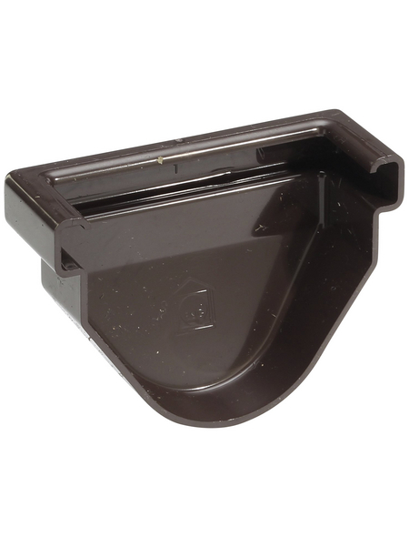 Rinneneckstück, RG 70, Hart-PVC