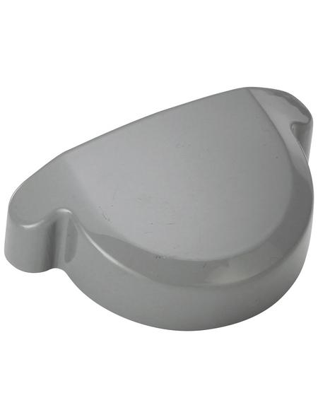 Rinnenendstück, Universal, Hart-PVC