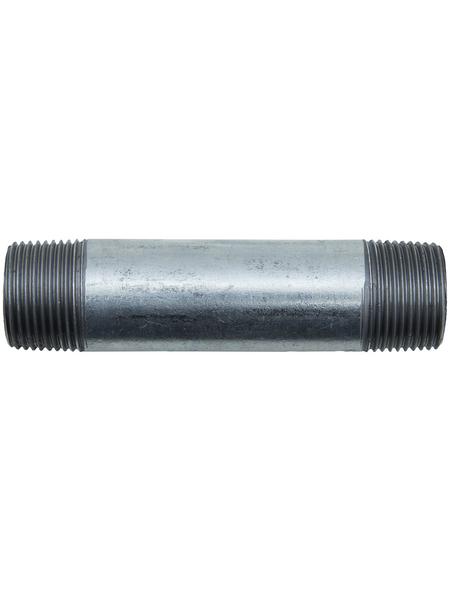 CORNAT Rohr-Nippel, Nr. 530, beidseitig konisches Außengewinde, 3/4 Z AG x 100 mm