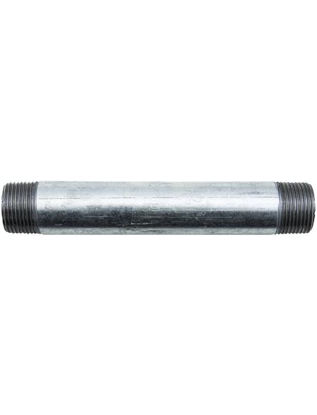 CORNAT Rohr-Nippel, Nr. 530, beidseitig konisches Außengewinde, 3/4 Z AG x 150 mm