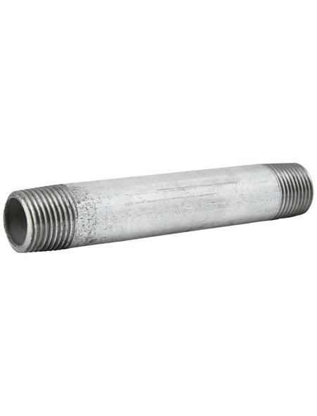 SANITOP-WINGENROTH Rohr, Temperguss, Ø21,3 mm x 12 cm