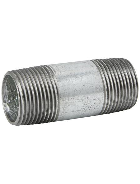 SANITOP-WINGENROTH Rohr, Temperguss, Ø26,9 mm x 6 cm