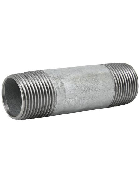 SANITOP-WINGENROTH Rohr, Temperguss, Ø26,9 mm x 8 cm