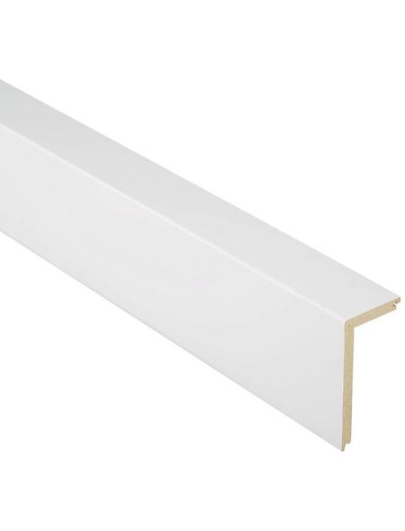 FN NEUHOFER HOLZ Rohrabdeckleiste »pipe-pro«, Uni weiß, MDF, LxHxT: 240 x 10 x 5 cm