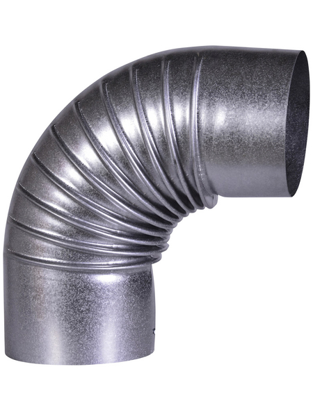 FIREFIX® Rohrbogen, ØxL: 10 x 21 cm, Stärke: 0,6 mm, Stahl