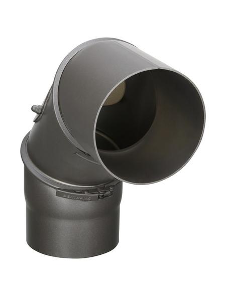 FIREFIX® Rohrbogen, ØxL: 12 x 45 cm, Stärke: 2 mm, Stahl