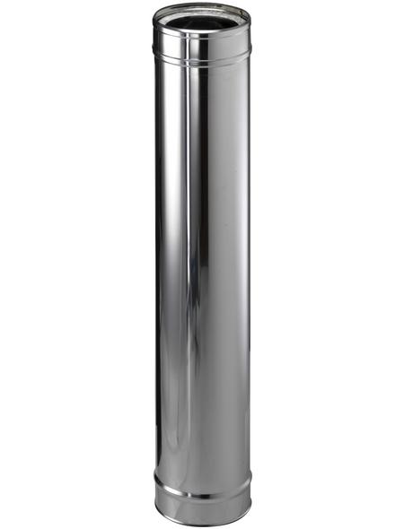 ZICKWOLFF Rohrelement, ØxL: 15 x 104 cm, Stärke: 25 mm, Edelstahl