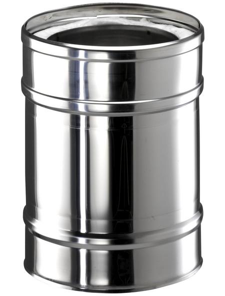 ZICKWOLFF Rohrelement, ØxL: 15 x 30 cm, Stärke: 25 mm, Edelstahl