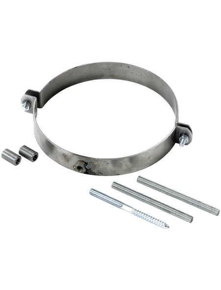 FIREFIX® Rohrschelle, Ø: 15 cm, Stärke: 2 mm, Stahl
