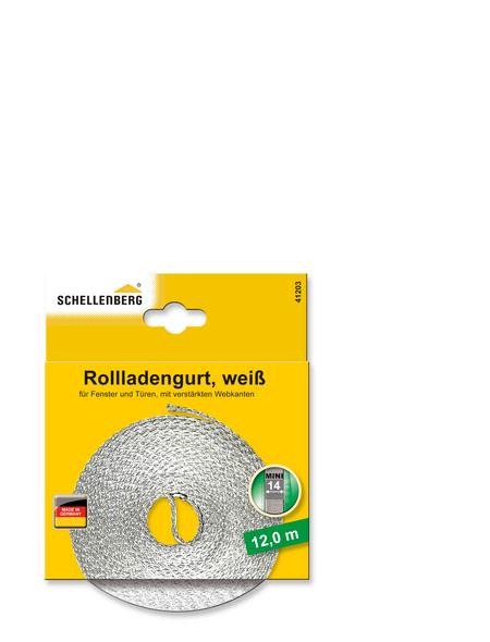 SCHELLENBERG Rolladengurt, Breite: 1,4 cm, weiß