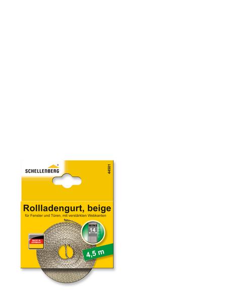 SCHELLENBERG Rolladengurt »MINI«, beige, geeignet für: Rollladen-System MINI