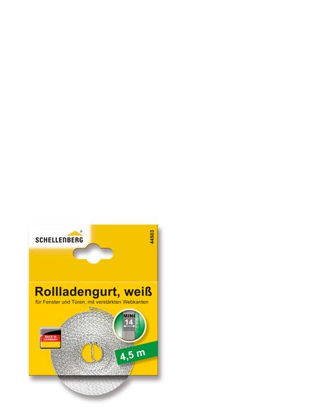 SCHELLENBERG Rolladengurt, weiß, geeignet für: Rollladen-System MINI