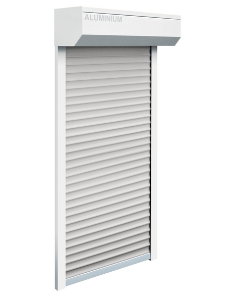 SCHELLENBERG Rollladen-Set »Mini«, geeignet für Fenster BxH: 110 x130 cm, weiß/grau