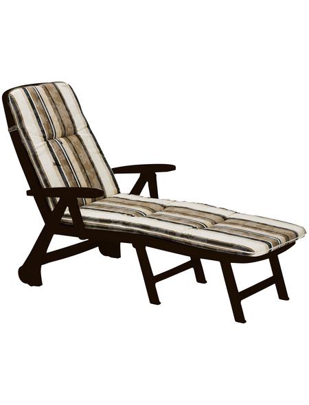 BEST Rollliege »Charleston«, Kunststoff, inkl. Auflage