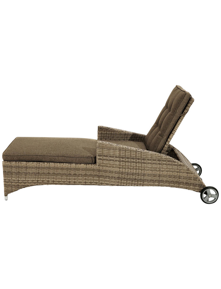 ploß® Rollliege »Rabida Comfort«, Aluminium + Polyester