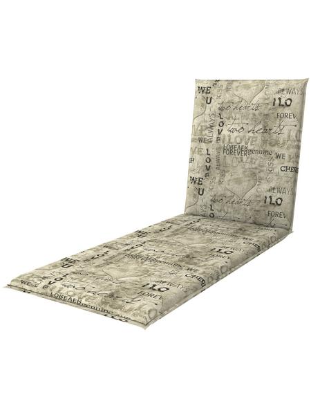 DOPPLER Rollliegenauflage »Living«, 195 x 60 x 6 cm