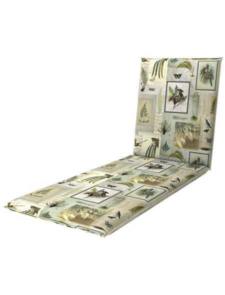 DOPPLER Rollliegenauflage »Living de Luxe«, 195 x 60 x 6 cm