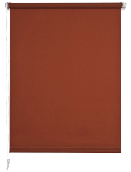 LIEDECO Rollo »Klemmfix«, terracotta, Polyester