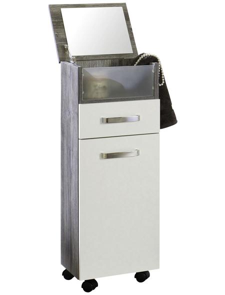 HELD MÖBEL Rollschrank »Capri«, BxHxT: 30 x 84 x 27 cm