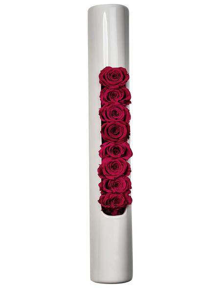 Rosen in Keramik »Infinity-Bloom«, rosa
