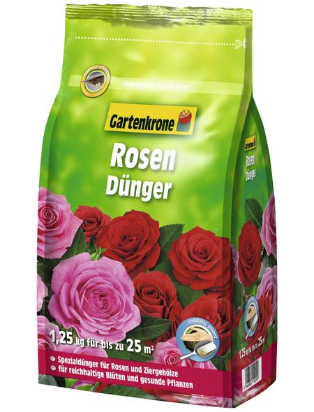GARTENKRONE Rosendünger 1,25 kg