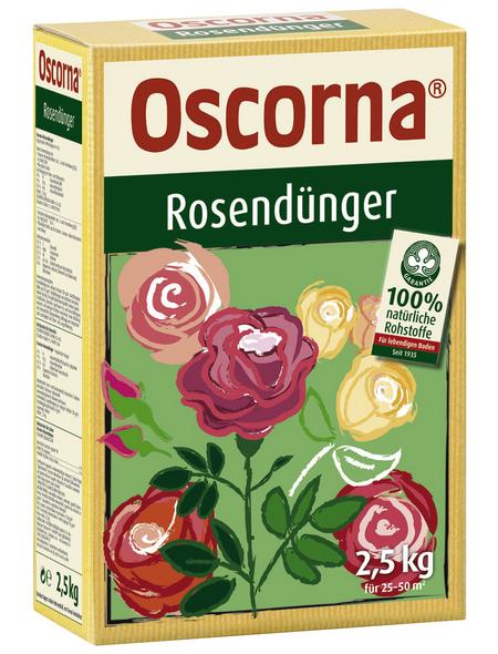Oscorna Rosendünger, 2,5 kg, für 35 m²