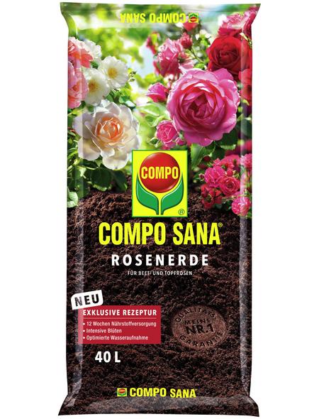 COMPO Rosenerde »COMPO SANA® «, für Beet- und Topfrosen