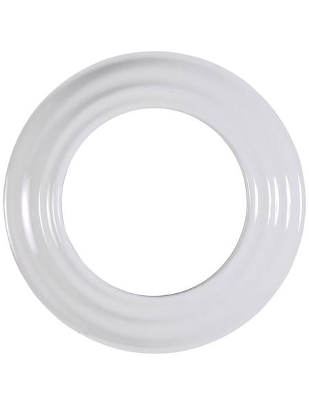FIREFIX® Rosette, Ø: 12 cm, Stärke: 0,6 mm, Stahl-Email