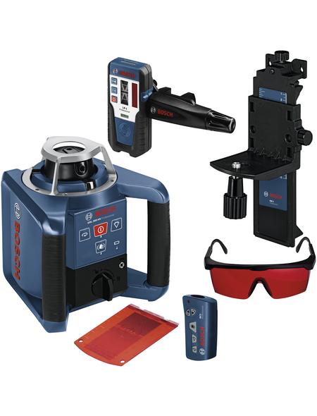 BOSCH PROFESSIONAL Rotationslaser »GRL 300 HV set Prof«, schwarz/blau