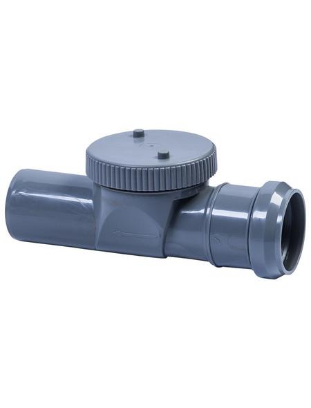 CORNAT Rückstauklappe, Kunststoff, Länge: 390 mm