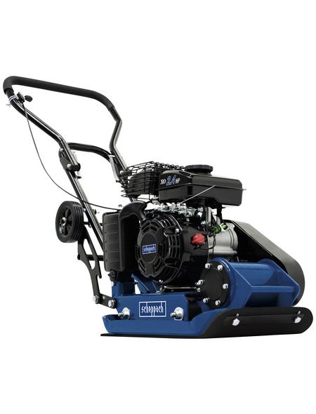 SCHEPPACH Rüttelplatte »HP 800S«, blau/schwarz, Edelstahl/Kunststoff, inkl. Gummimatte und Fahrvorrichtung