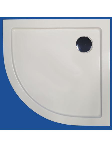 SANOTECHNIK Rundduschwanne, BxT: 90 cm x 90 cm