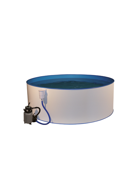 MYPOOL Rundpool Set , rund, Ø x H: 450 x 90 cm