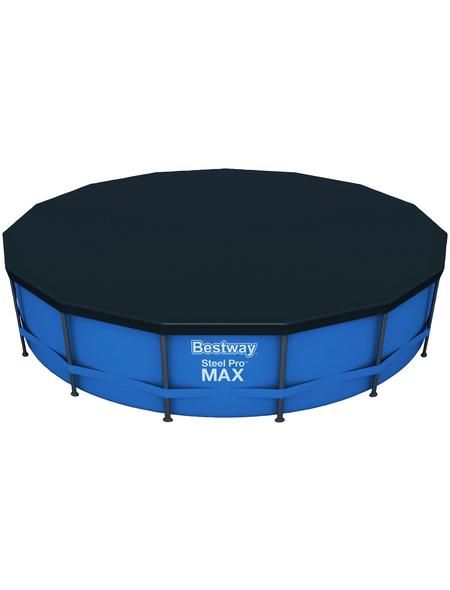 BESTWAY Rundpool Set »Steel Pro Max«, rund, Ø x H: 457 x 107 cm