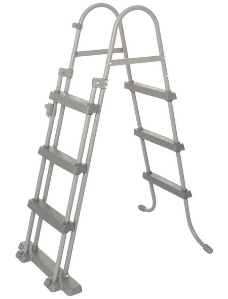 BESTWAY Rundpool »Steel Pro Max™«, grau, ØxH: 457 x 107 cm