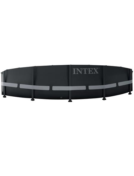 INTEX Rundpool »Ultra Rondo XTR«, anthrazit, ØxH: 488 x 122 cm